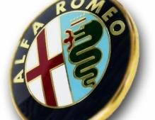Alfa Romeo naafdoppen