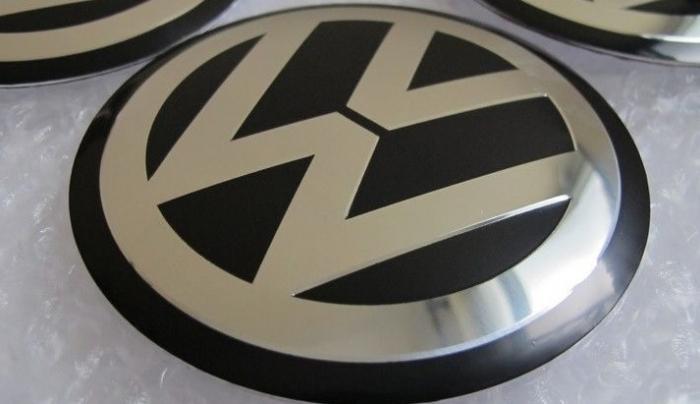Tip Volkswagen Naafdop Stickers 60mm