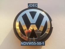 Volkswagen naafdoppen 55mm vlak