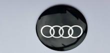 Audi Stickers 57mm Zwart