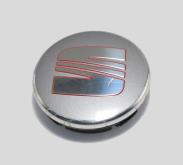 Seat Naafdoppen 55mm 6ll601171 zilver