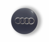 Audi Stickers 57mm Grijs