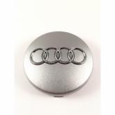Audi Naafdop 60mm 4B0601170 Zilver