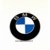 BMW naafdop stickers 56mm