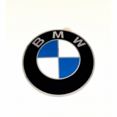 BMW naafdop sticker 70mm 36136758569