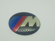 BMW naafdop sticker 65mm M