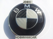 BMW naafdoppen 68mm carbon
