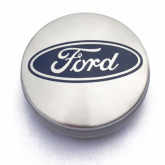 Ford naafdoppen 54mm Zilver