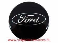 Ford naafdoppen 54mm zwart