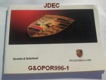 Garantie en onderhoud Porsche Boxster 996