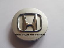 Honda naafdoppen 68mm zilver