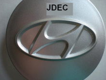 Hyundai naafdoppen 62mm