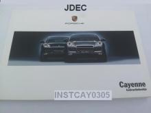Instructieboekje Porsche Cayenne 2003-2005