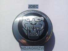 Jaguar naafdoppen 60mm zwart