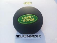 Land rover naafdoppen 63mm matzwart