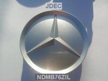 Mercedes naafdoppen 75mm grijs