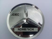 Mercedes naafdoppen 75mm chroom