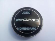 Mercedes naafdoppen AMG 60mm