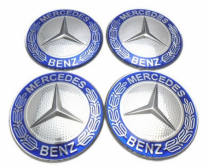 Mercedes stickers 56mm krans