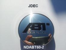 Volkswagen naafdoppen 60mm ABT zilver
