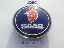 Saab naafdoppen 60mm