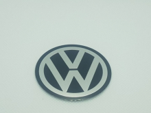 Volkswagen naafdop Stickers 55mm vlak