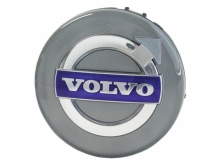 Volvo naafdoppen 64mm blauw